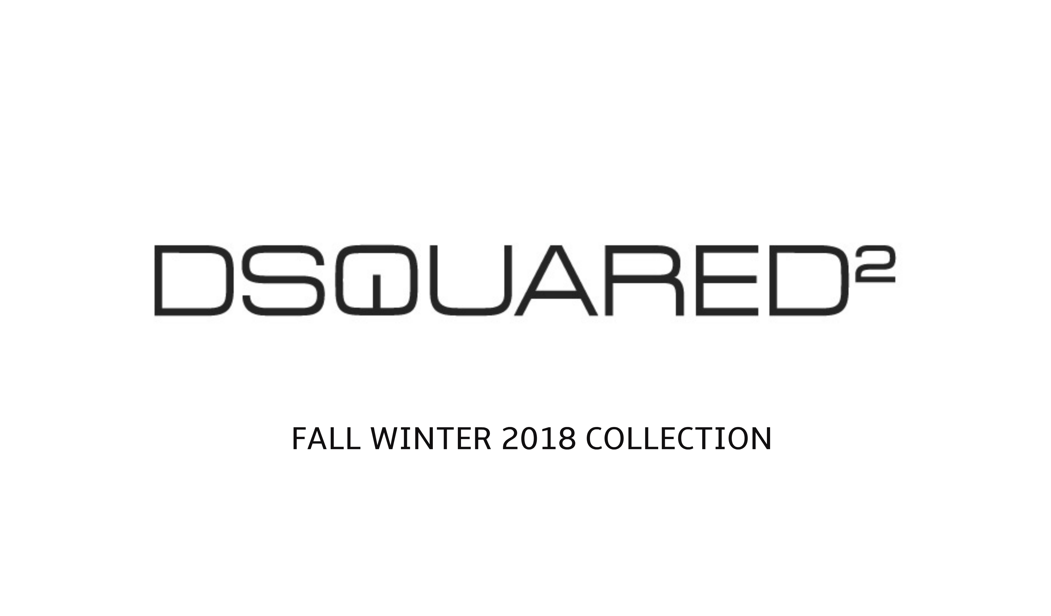 Dsquared2 Fall Winter 2018 Collection