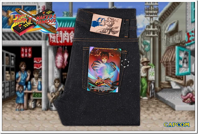 Naked & Famous Denim and Capcom Collaborate To Create A Capsule Collection Featuring The Arcade Classic Street Fighter 2 | Denimsandjeans