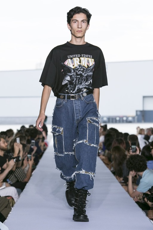 Vetements SS19 Denim Collection