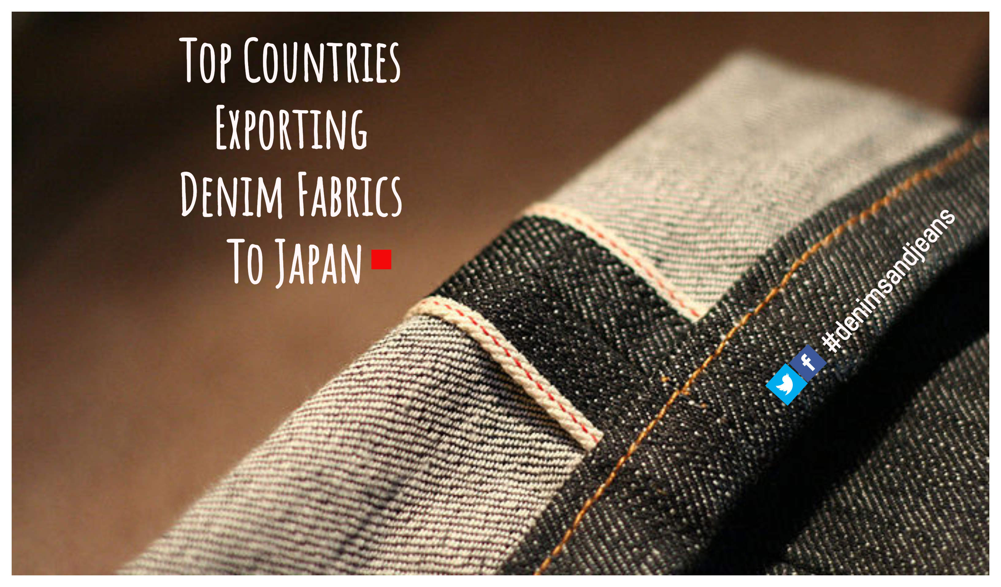 Top Countries Exporting Denim Fabrics To Japan