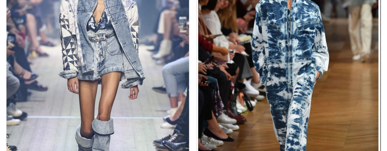 Comeback Of Bleached Jean Trend For SS 19