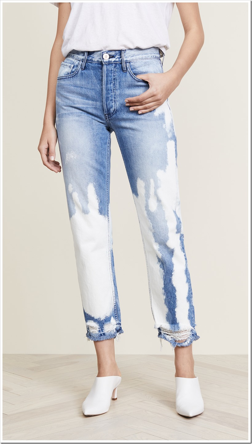The Comeback Of Bleached Jean Trend | Denimsandjeans