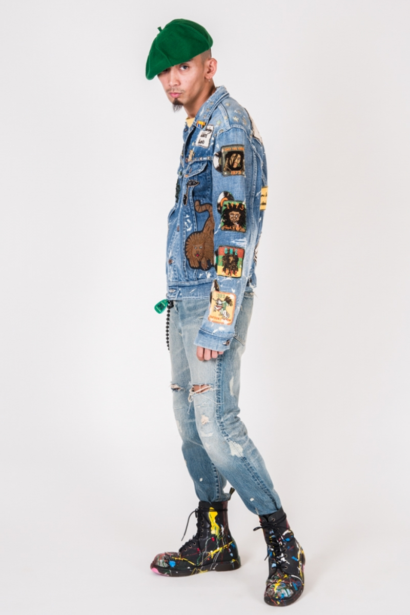 BOB-MARLEY THEMED SS19 COLLECTION BY KAPITAL | Denimsandjeans