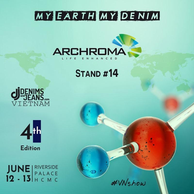 Archroma Booth | Denimsandjeans Vietnam