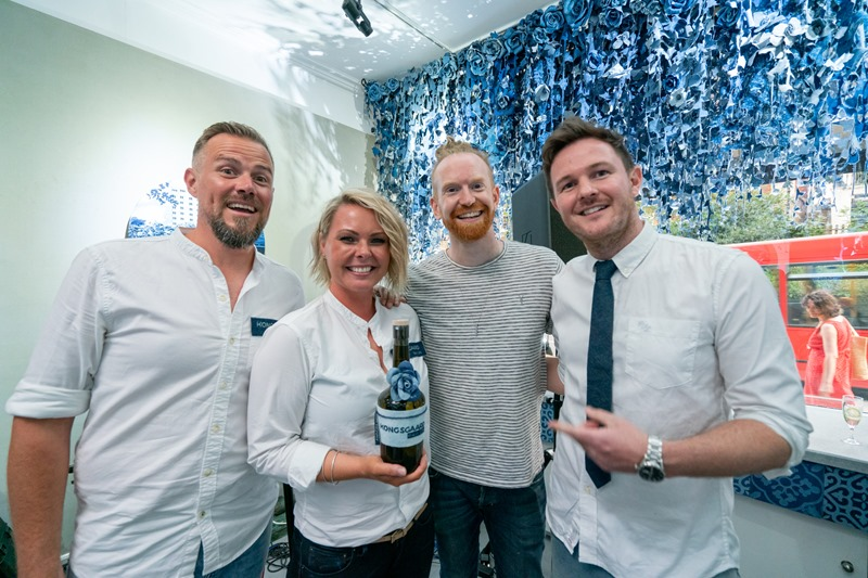with kongsgaard gin and newton faulkner