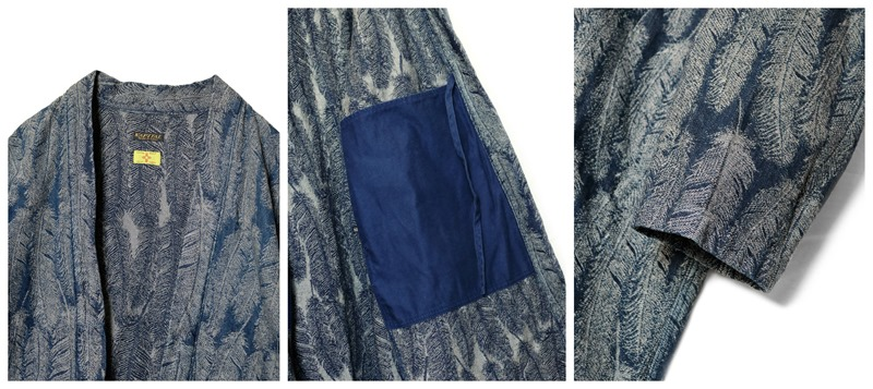 Looks From The Latest Collection Of Kapital–The Feather Denim