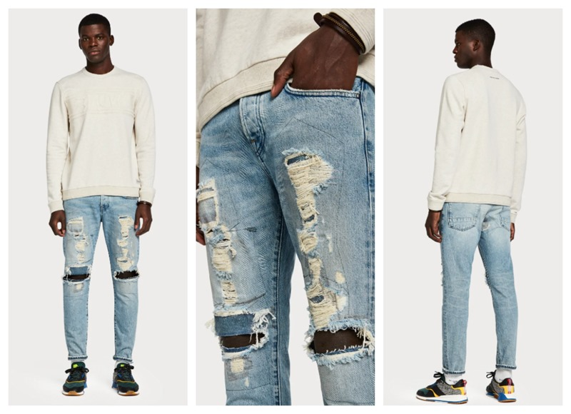 New Denim Looks By Scotch Soda