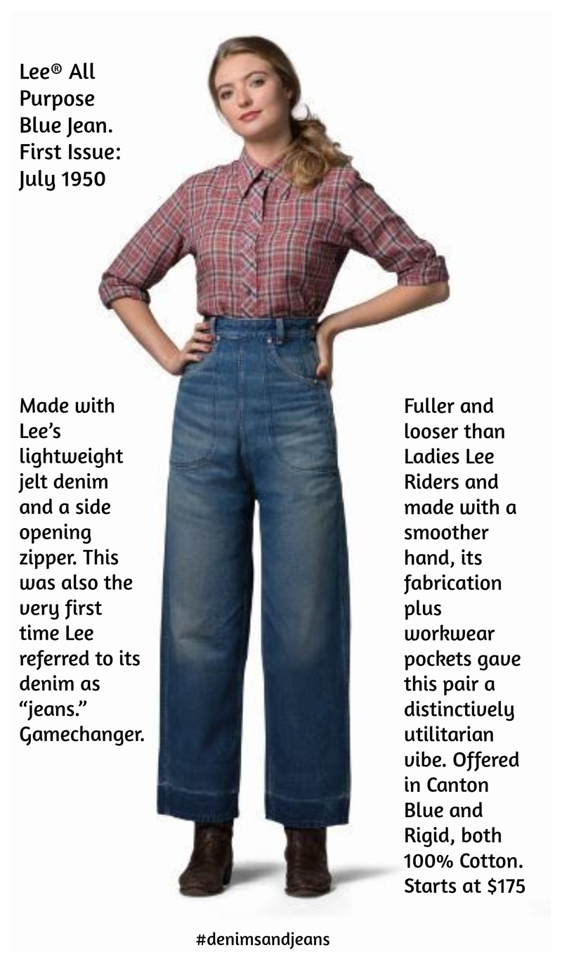 LEE® launches limited edition of REISSUE to pay an homage to its 130 years old historical female denim originals