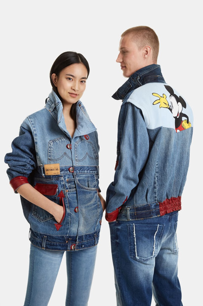 100 % Sustainable Collection By Desigual X Ecoalf  | Denimsandjeans