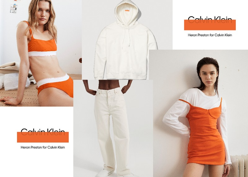 Heron Preston & Calvin Klein Collaboration